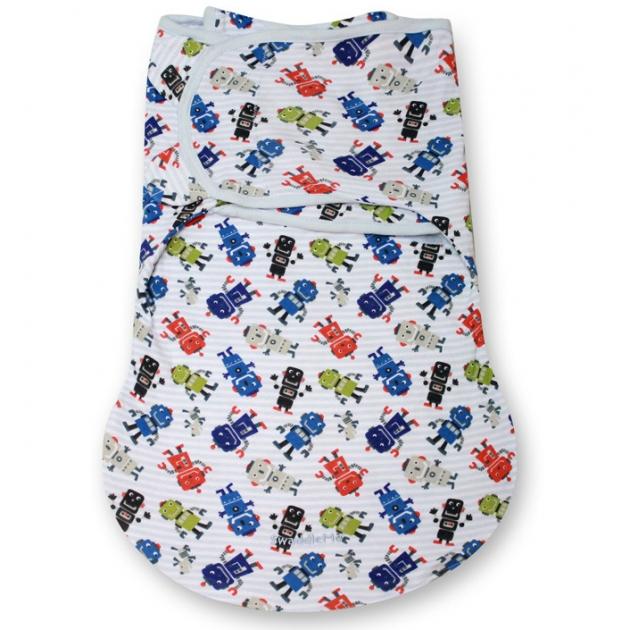 Конверт для пеленания с 2 способами фиксации Summer infant SWADDLEME WrapSack 75910