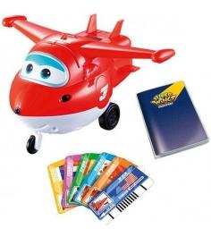 Игрушка Супер крылья Джетт с карточками разных стран YW710410...