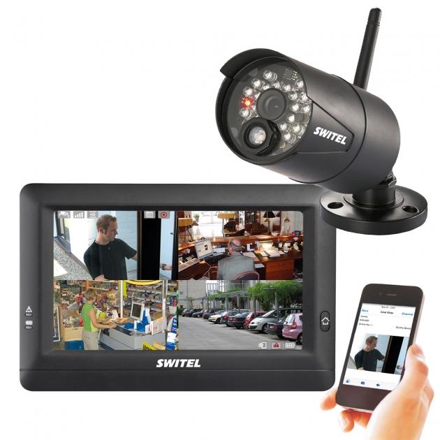 Система видеонаблюдения Switel HSIP5000 беспроводная