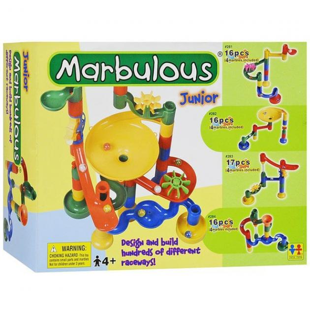 Конструктор Крутые виражи Marbulous Junior 14 дет. Tototoys 281