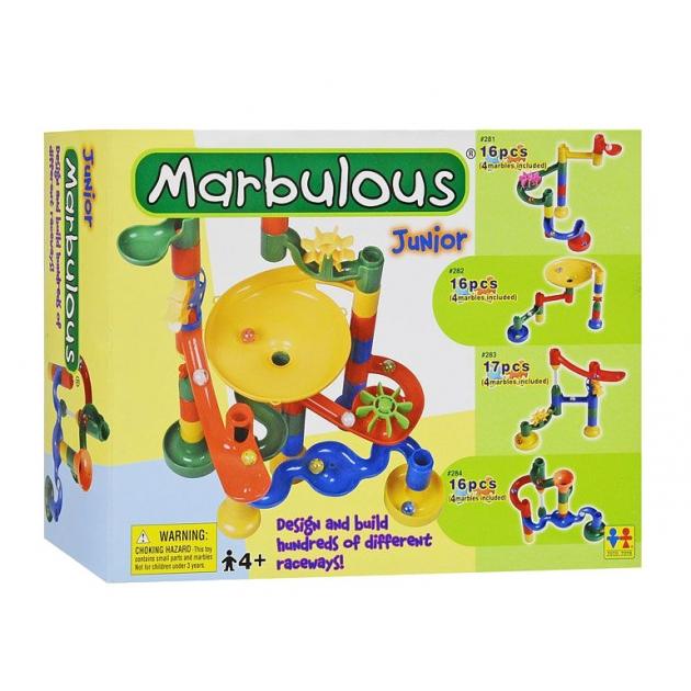 Конструктор Крутые виражи Marbulous Junior 16 дет. Tototoys 282