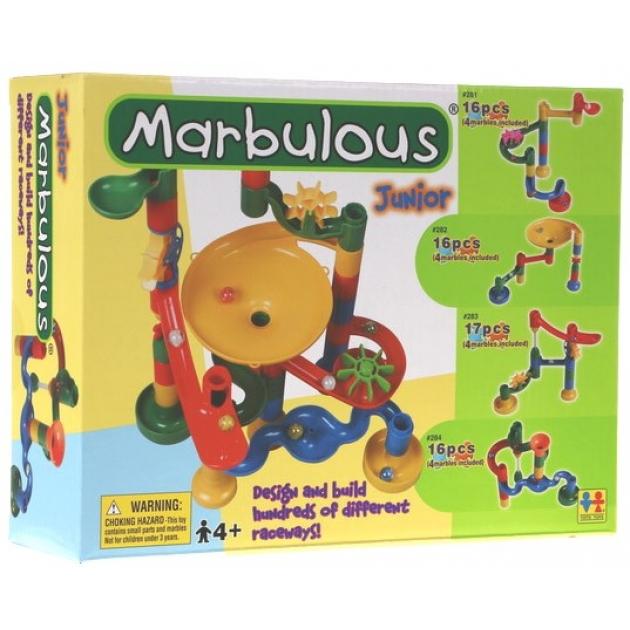 Конструктор Крутые виражи Marbulous Junior 14 дет. Tototoys 283