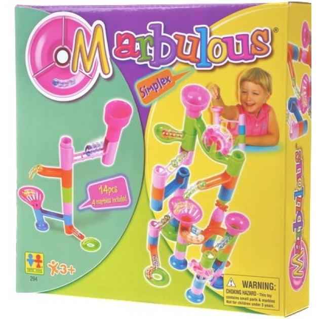 Конструктор Крутые виражи Marbulous Simplex 14 дет. Tototoys 294