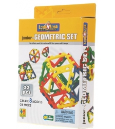Конструктор Lock N Lock  Junior-Geometric Set 22 д...