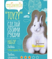 Набор для валяния Toyzy Зайка TZ-F001