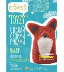 Набор для валяния Toyzy Лисичка начальный TZ-F009