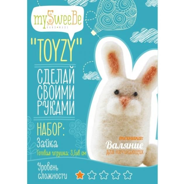 Набор для валяния Toyzy Зайка начальный TZ-F010