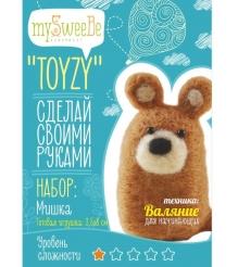 Набор для валяния Toyzy Мишка начальный TZ-F011
