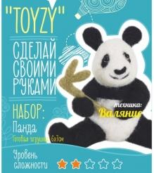 Набор для валяния Toyzy Панда TZ-F014