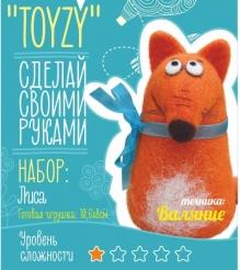 Набор для валяния Toyzy Лиса начальный TZ-F016