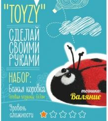 Набор для валяния Toyzy Божья коровка начальный TZ-F017...