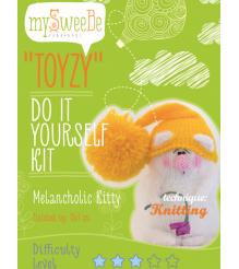 Набор для вязания Toyzy Кот Грустик TZ-K001
