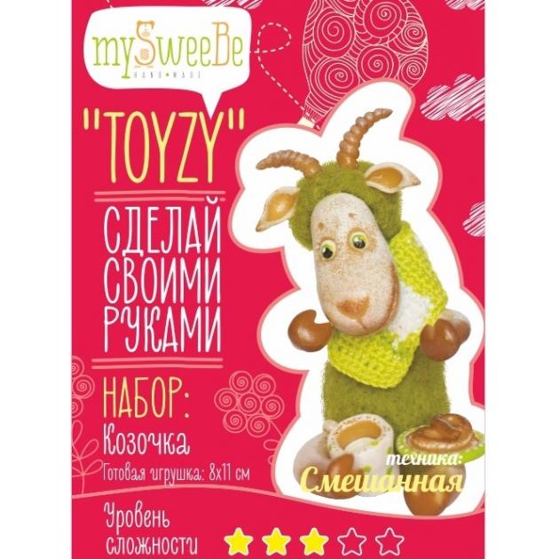 Набор для вязания и валяния Toyzy Козочка TZ-M001