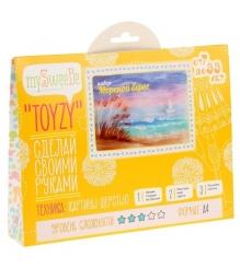 Набор для картин шерстью Toyzy Морской берег TZ-P016...