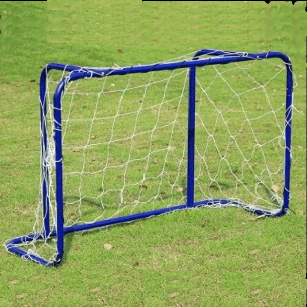 Детские футбольные ворота с сеткой Юнион-Плей 1303