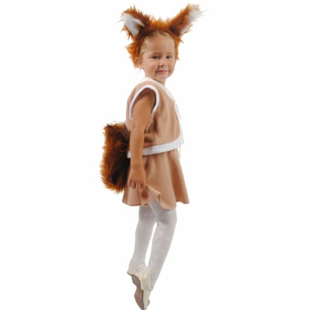 Карнавальный костюм для девочки Вестифика Белочка