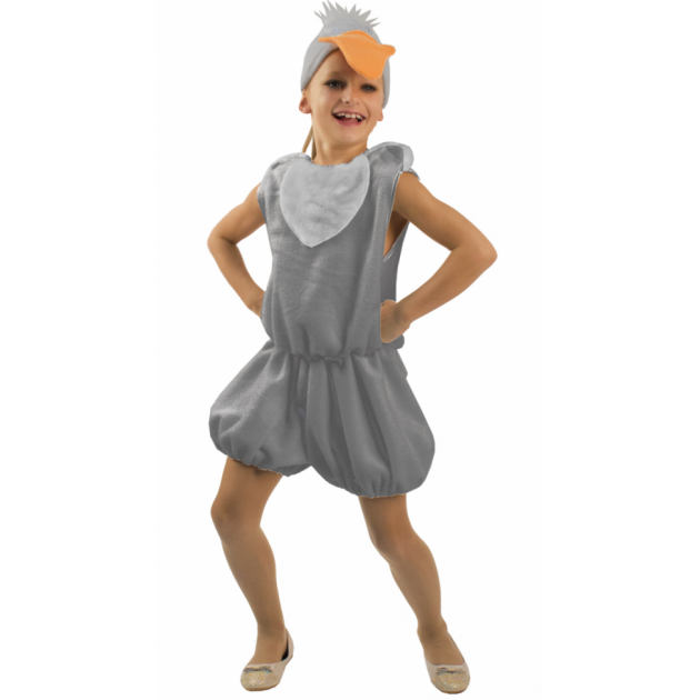 Карнавальный костюм для мальчика Вестифика Гусь серый