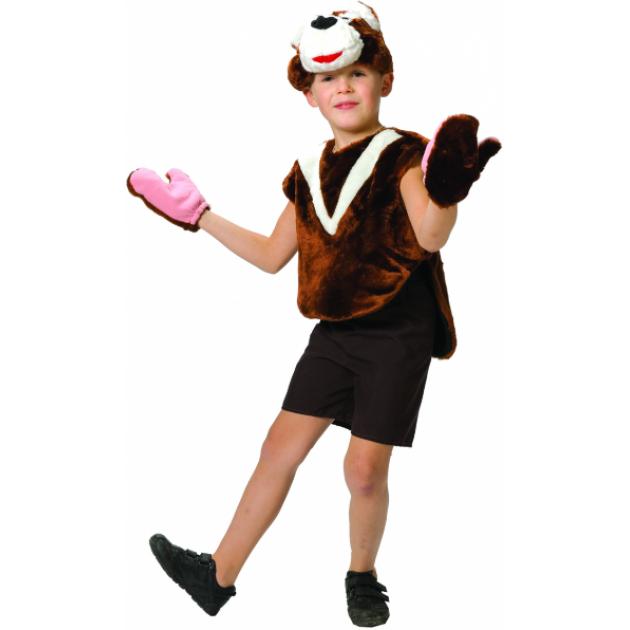 Карнавальный костюм для мальчика Вестифика Медвежонок