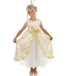 Карнавальный костюм для девочки Вестифика Принцесса Золотая Люкс...