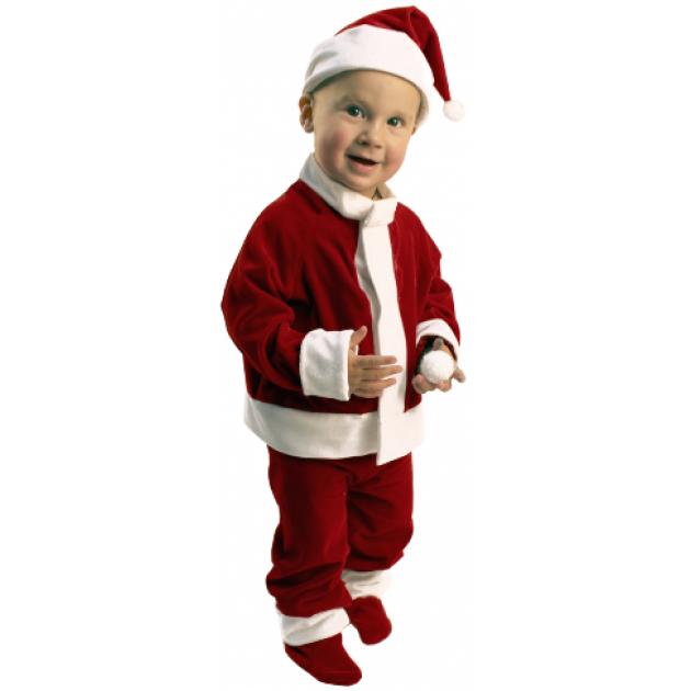Карнавальный костюм для мальчика Вестифика Санта Клаус