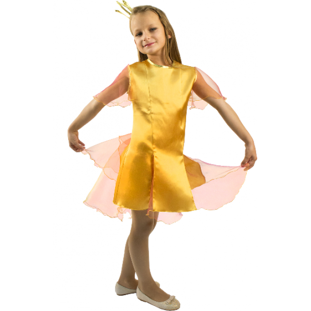 Карнавальный костюм для девочки Вестифика Золотая рыбка