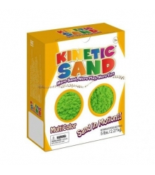 Кинетический песок WABA FUN Kinetic Sand зеленый (2,27 кг) 150-703