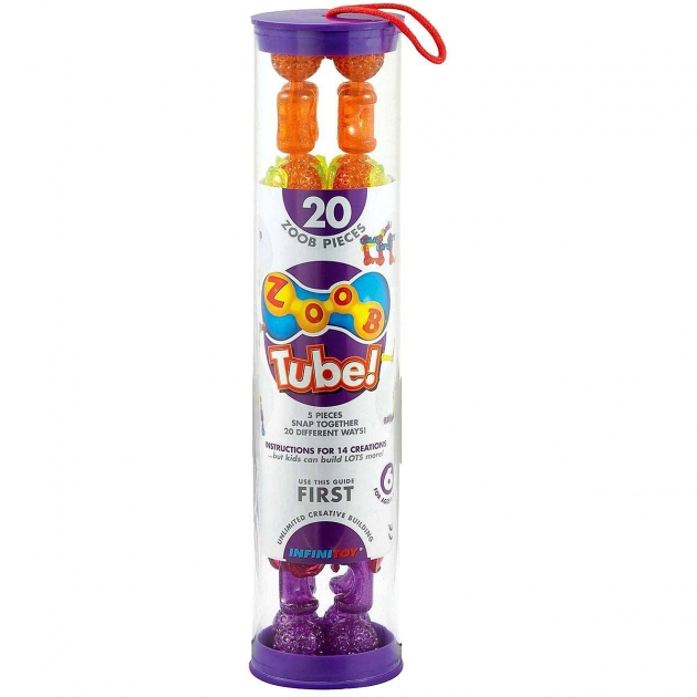 Конструктор Zoob Tube 20 деталей Sparkle 11022