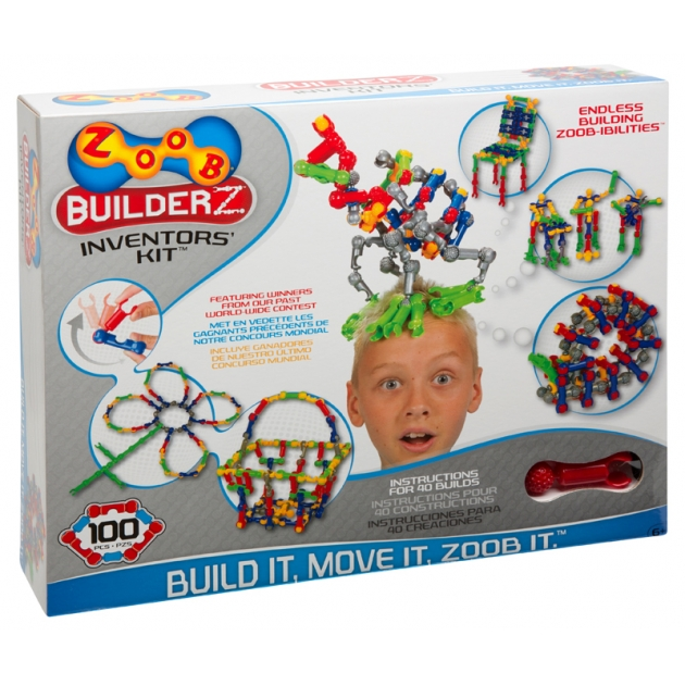 Конструктор Zoob Inventors Kit 100 деталей 11100