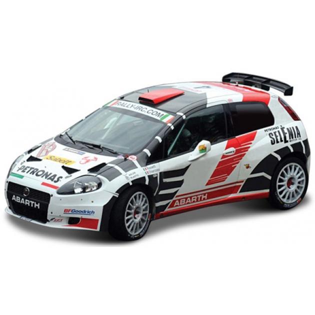 Модель автомобиля Bburago1 43 ралли abarth  18-38110