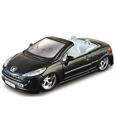 Модель автомобиля Bburago 1 32 peugeot 207 cc tuni...