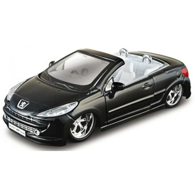 Модель автомобиля Bburago 1 32 peugeot 207 cc tuning  18-42005b