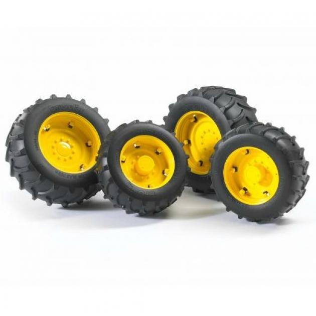 Шины с жёлтыми дисками Bruder 02-012