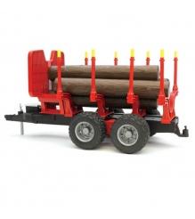 Прицеп bruder для перевозки леса с брёвнами Bruder 02-251...