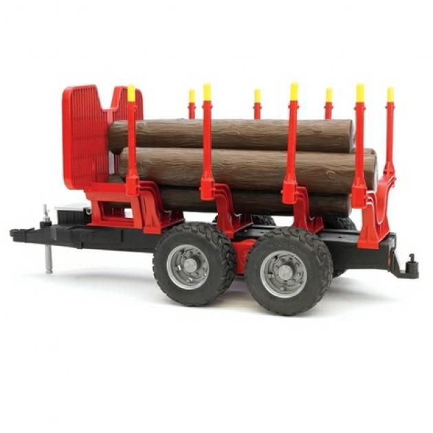 Прицеп для перевозки леса с брёвнами Bruder (Брудер) (Арт. 02-251)
