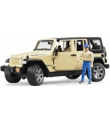Jeep Wrangler Unlimited Rubicon Bruder 02-525
