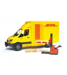 Фургон MB Mercedes Benz Sprinter DHL Bruder 02-534