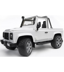 Джип пикап Land Rover Defender Bruder 02-591