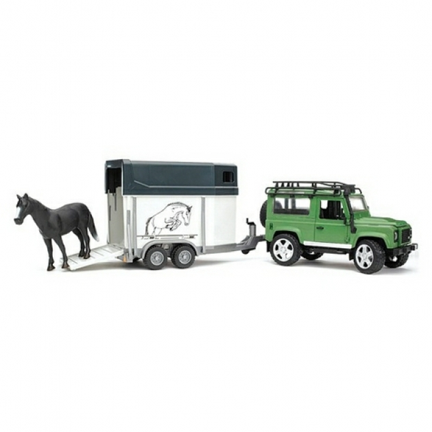 Джип Land Rover Defender Bruder 02-592