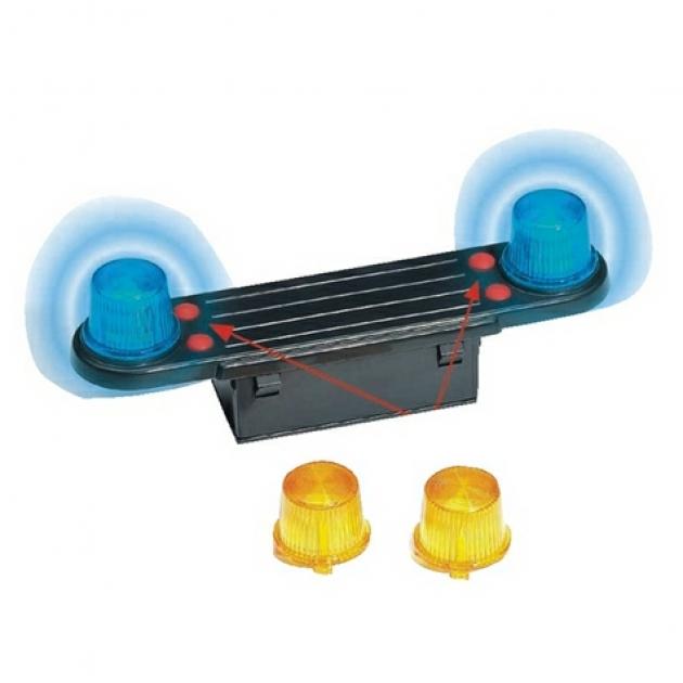 Модуль со световыми и звуковыми эффектами для автомобилей Bruder (Брудер) (Арт. 02-801) (Аксессуары H)