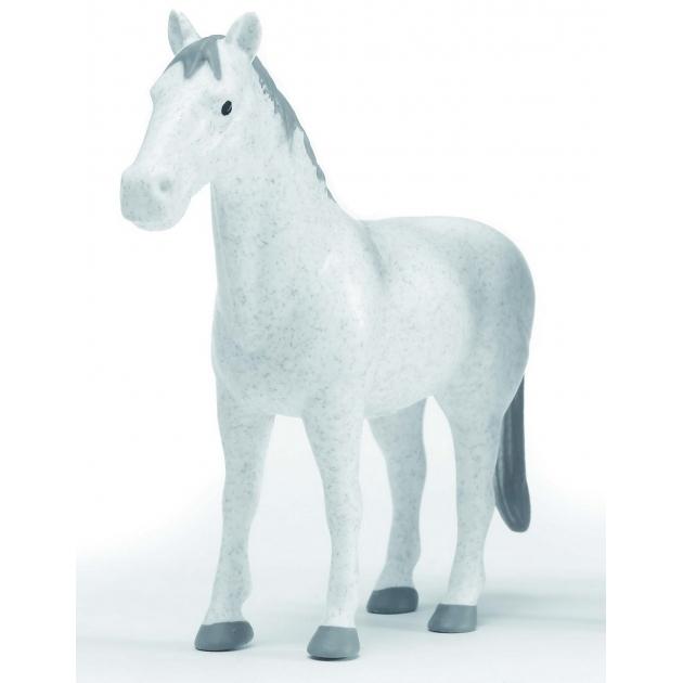 Фигурка лошади Bruder белая 02-306