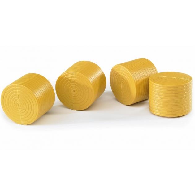 Фигурки рулонов сена Bruder 4 шт для Claas Rolland 250 02-344