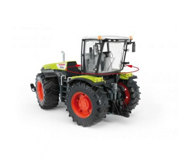 Bruder Трактор Claas Xerion 5000 с поворачивающейся кабиной 03-015