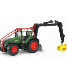 Трактор Fendt 936 Vario лесной с манипулятором Bruder 03-042