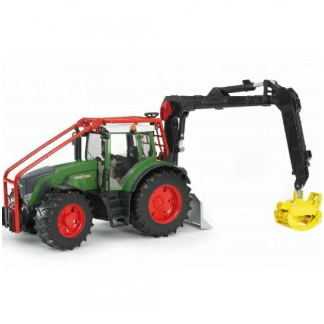 Трактор Fendt 936 Vario лесной с манипулятором Bruder (Брудер) (Арт. 03-042)