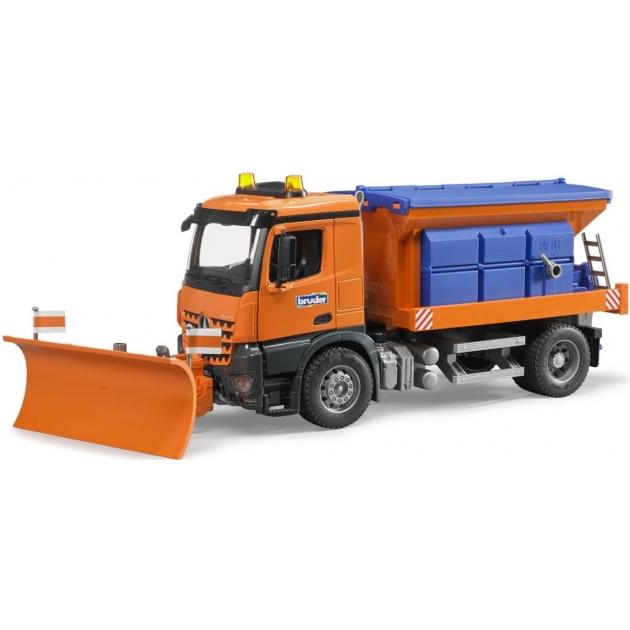 Снегоуборочная машина MB Arocs (подходит модуль со звуком и светом