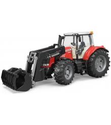 Трактор Massey Ferguson 7600 с погрузчиком Bruder 03-047