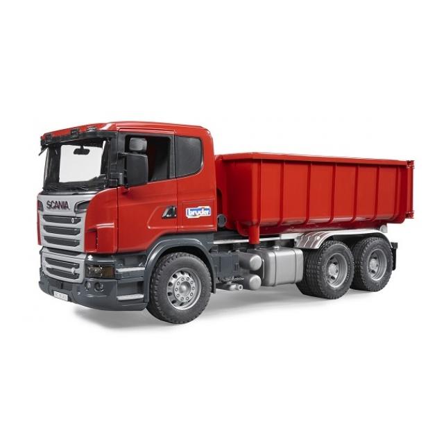 Контейнеровоз Scania с снимающимся контейнером Bruder (Арт. 03-522)