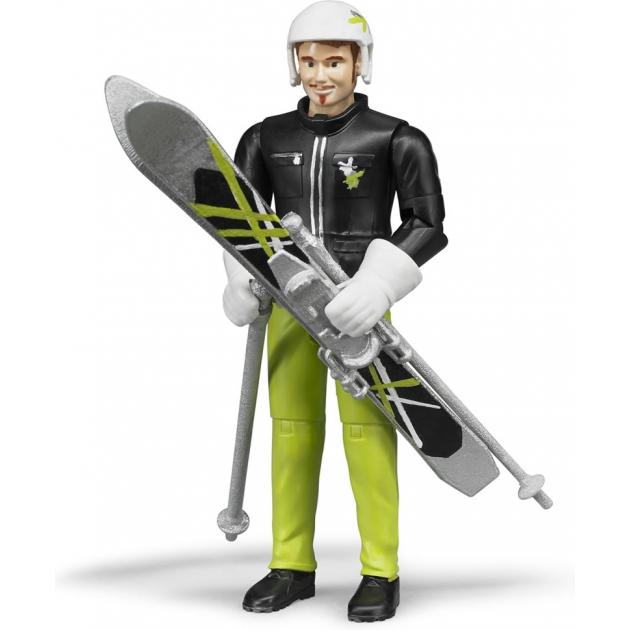 Фигурка лыжника Bruder 60-040