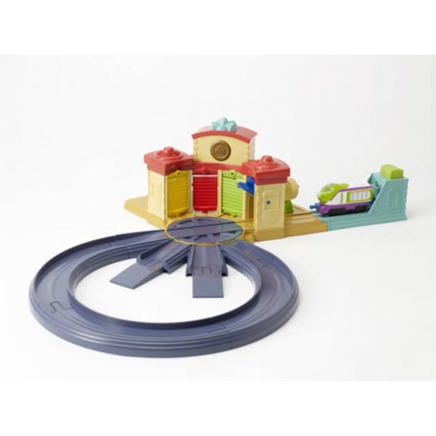 Игровой набор Чаггингтон Дом стажёров с кольцевой железной дорогой LC54204