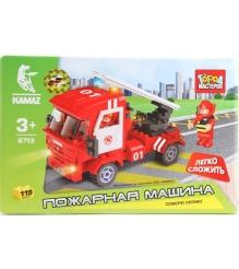 Детский конструктор Город Мастеров Пожарная Машина BB-6713-R